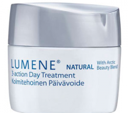 Дневной крем для лица Natural 3-Action Day Treatment от Lumene