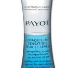 Средство для снятия макияжа с глаз и губ Demaquillant Sensation от Payot