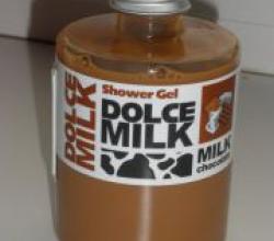 Гель для душа от Dolce milk