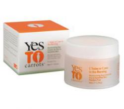 """Увлажняющий дневной крем для лица """"Морковный сок утром"""" от Yes To Carrots"""