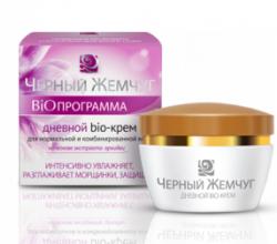 Дневной крем для лица для нормальной и комбинированной кожи BIO-программа от Черный жемчуг