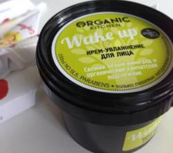 """Крем-увлажнение для лица """"Wake up"""" от Organic kitchen"""