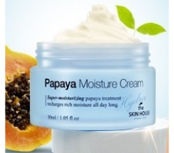 Увлажняющий крем для лица Papaya Moisture Cream от The Skin House