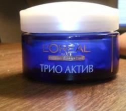 Ночной крем для лица L'oreal Trio Active