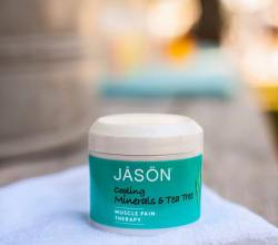 Минеральный гель Cooling Mineral Gel Tea Tree от Jason Natural