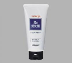 Shiseido NATURGO Пенка для умывания с натуральной глиной для мужчин