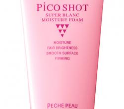 Пенка для умывания SUPER BLANC MOISTURE FOAM от Pico Shot