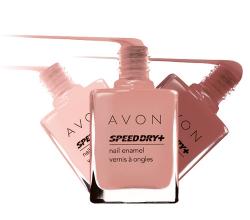 "Лак для ногтей ""Speed dry +"" от Avon"