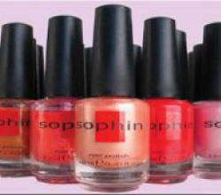 Лак для ноктей от Sophin