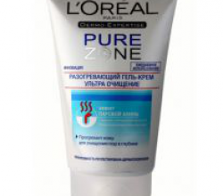 Разогревающий гель-крем ультра очищение Pure Zone от L'oreal