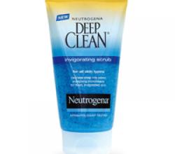 "Скраб для лица ""Neutrogena Visibly Clear"""