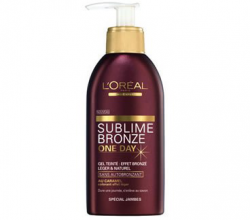 Тонирующий гель с эффектом загара Sublime Bronze One Day от L'Oréal