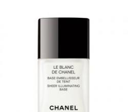 База под макияж Chanel le blanc от Chanel