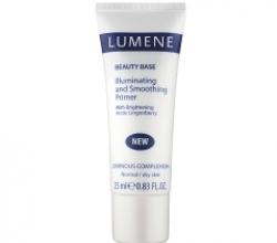 Выравнивающая база для макияжа лица с эффектом сияния от Lumene