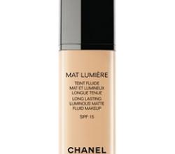 Тональный крем Mat Lumiere Teint Fluide SPF 15 от Chanel