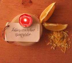 """Твердое крем-масло для тела """"Антицеллюлитное цитрусовое"""" от Мыловаров"""