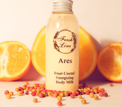 """Энергетическое молочко для тела """"Арес"""" от Fresh Line"""
