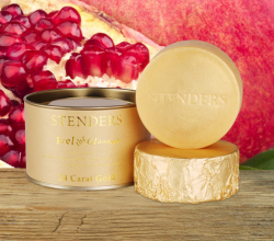 Золотое мыло в 24 карата от Stenders