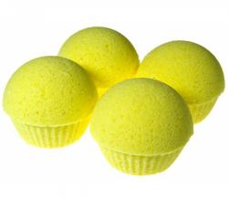 """Бурлящий шарик для маникюра """"Лимонная свежесть"""" от Мыловаров"""
