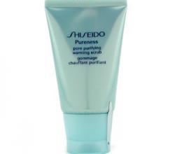 Скраб для лица с тепловым эффектом для очищение пор Pore Purifying Warming Scrub от Shiseido