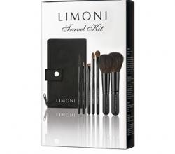 Дорожный набор кистей для макияжа Travel Kit от Limoni