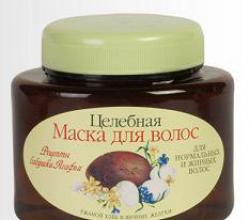 """Целебная маска для волос """"Ржаной хлеб и яичные желтки""""от  Рецепты бабушки Агафьи"""