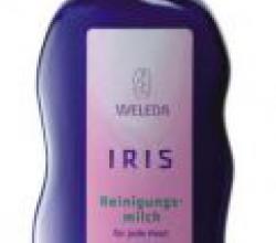 Ирисовое очищающее молочко от Weleda