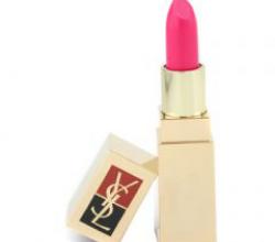 Увлажняющая губная помада Lipstick Rouge Pur SPF 8 от YSL