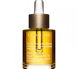 Ночное масло для обезвоженной кожи с голубой орхидеей Blue Orchid Face Treatment Oil от Clarins