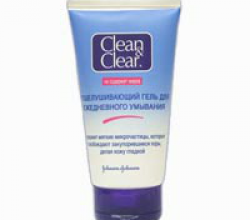 Отшелушивающий гель для ежедневного умывания от CLEAN&CLEAR