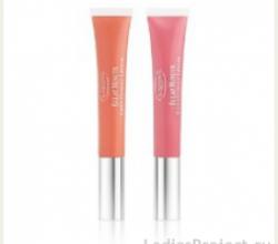 Блеск-бальзам для губ Eclat Minute Instant Light Natural Lip Perfector (оттенок № 03) от Clarins
