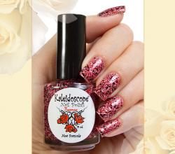 Лак для ногтей Kaleidoscope из серии Кружева и пайетки (оттенок № 12) от EL Corazon