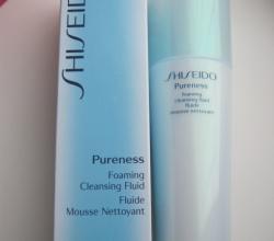 Очищающая пенка-флюид  Foaming Cleansing Fluid (серия PURENESS) от Shiseido
