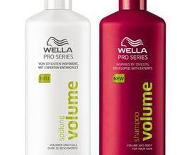Шампунь и бальзам для волос Volume от Wella Pro Series