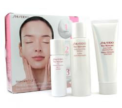 """Набор для ухода за кожей лица """" The Skincare 1-2-3"""" от Shiseido"""