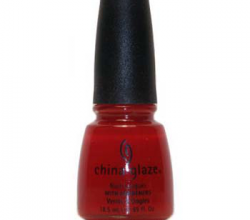 Лак для ногтей Paint the town red (№72034) от China Glaze