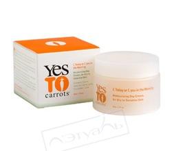 """Увлажняющий дневной крем для лица """"Морковный сок утром"""" от YES TO"""