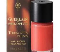 Лак для ногтей Terracotta Vernis (оттенок № 01 Paradisio) от Guerlain