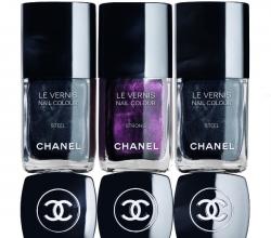 Лаки для ногтей Le Vernis из коллекции Soho Story Collection (оттенки Steel, Strong) от Chanel