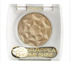 Тени для век с мерцающим эффектом Color Appeal Chrome Shine от L'Oreal