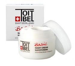 Ночной крем для лица Basic от Toitbel