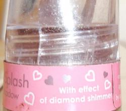 Рассыпчатые тени для век Diamon splash от Cherie ma Cherie