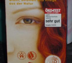 Хна для волос Sante Pflanzenhaarfarbe Henna Naturrot от Сантэ