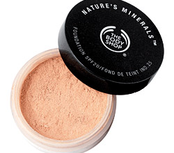 Минеральная пудра Nature's Minerals Foundation от The Body Shop (1)