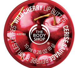 Масло для губ Wild Cherry Lip Butter от The Body Shop