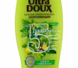 """Бальзам-ополаскиватель для волос """"5 трав"""" Укрепляющий Ultra Doux от Garnier"""