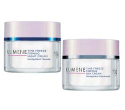 Дневной лифтинг-крем и ночной лифтинг-крем Time Freeze от Lumene
