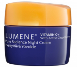 Восстанавливающий ночной крем для лица Vitamin C+ от Lumene