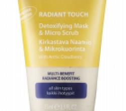 Средство 2в1: Детокс-маска и деликатный скраб для лица Radiant Touch от Lumene