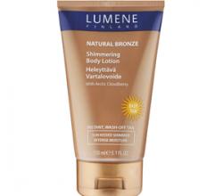 Лосьон для тела с эффектом мерцания Natural Bronze Shimmering Body Lotion от Lumene